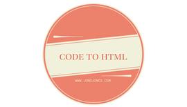 Code To HTML