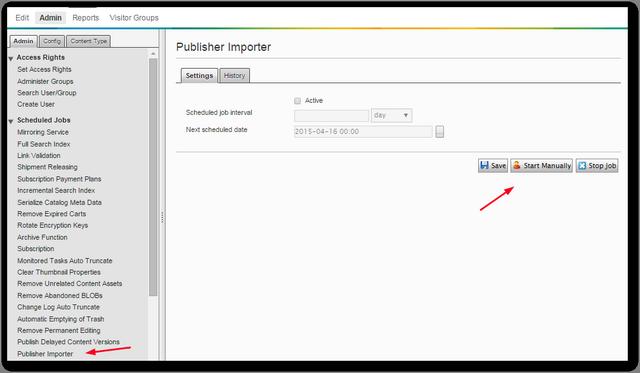 Episerver_Admin_Scheduled_Job