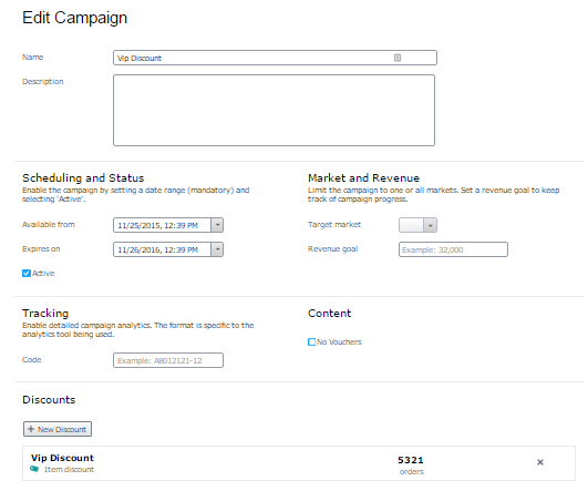 Episerver_commerce_9_Campaign_screen