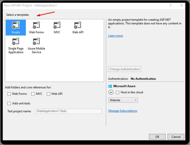 installing_umbraco_nuget_blank_solution