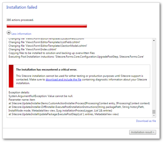sitecore_wffm_75_upgrade_upgradepoststep_error