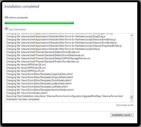 sitecore_wffm_installation_complete