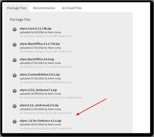 umbraco6_installing_usync_part1
