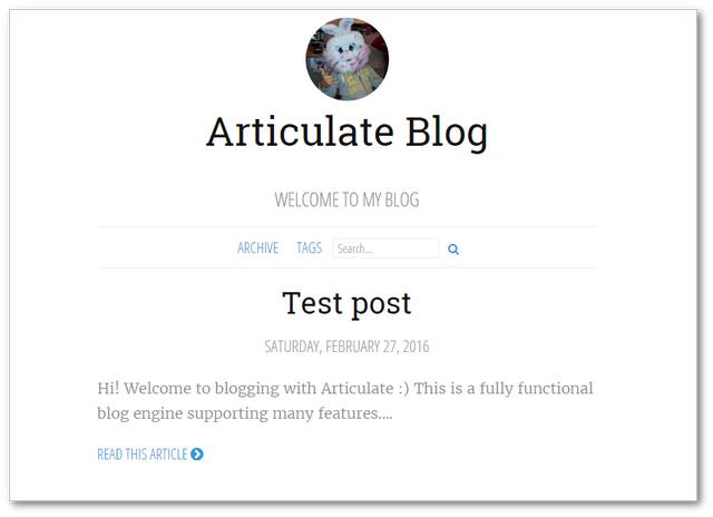 umbraco_blog_articulate_homepage