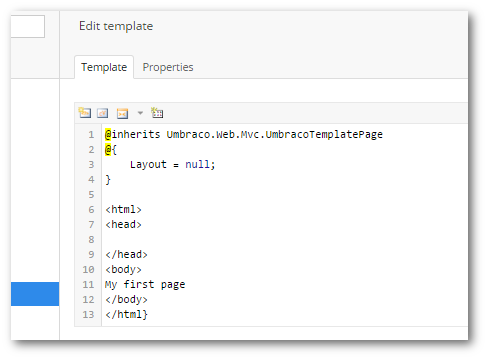 Using master templates umbracotv.